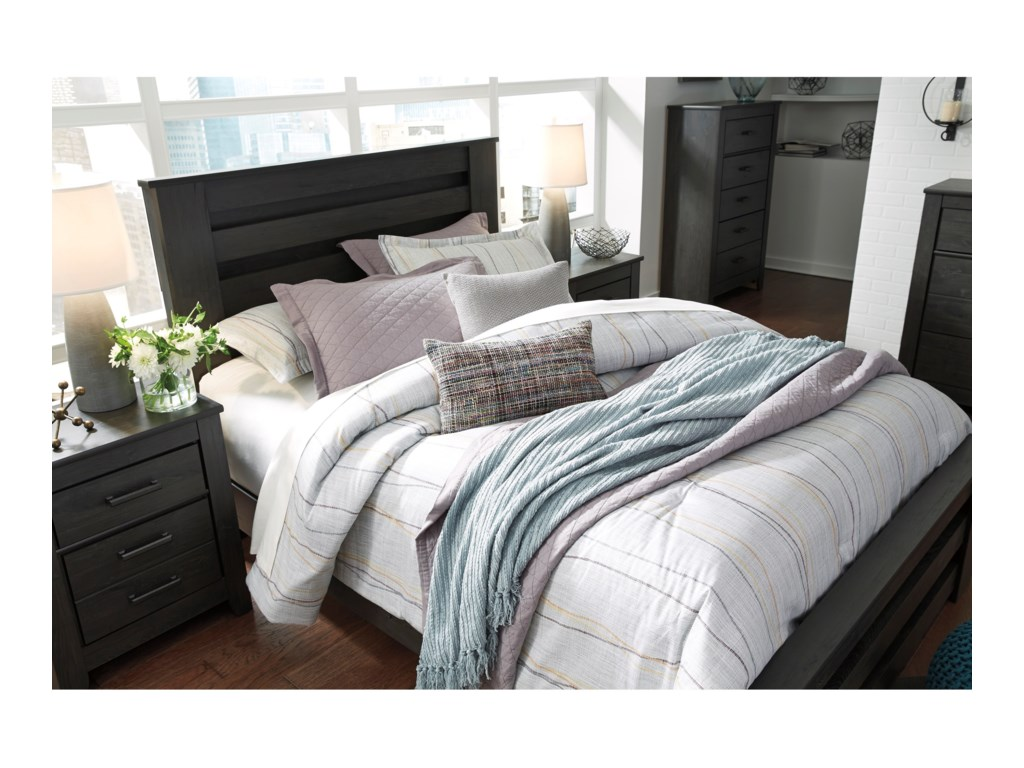 Signature Design by Ashley BrinxtonQueen Poster Bed