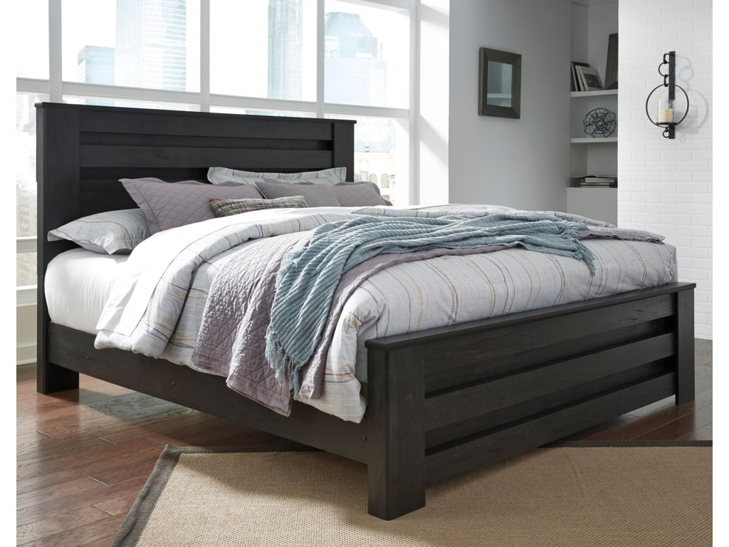 Signature Design by Ashley BrinxtonKing Panel Bed