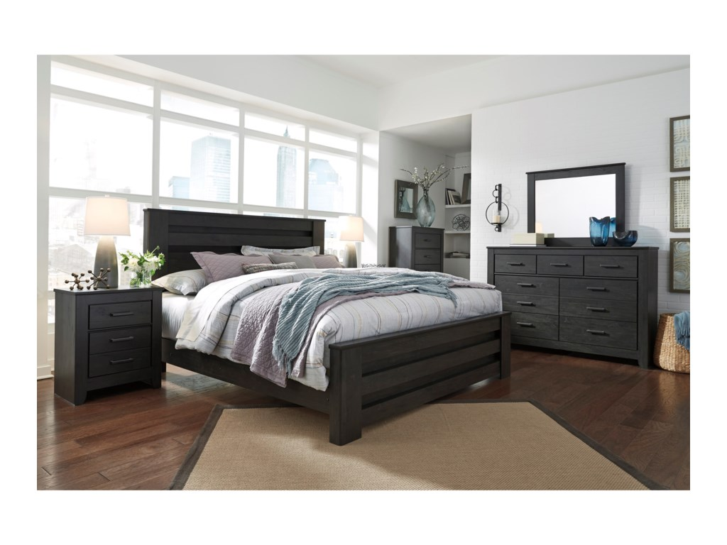 Signature Design by Ashley BrinxtonKing Poster Bed