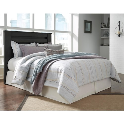 Signature Design by Ashley Brinxton King/Cal King Poster Headboard with Modern Geometric Design