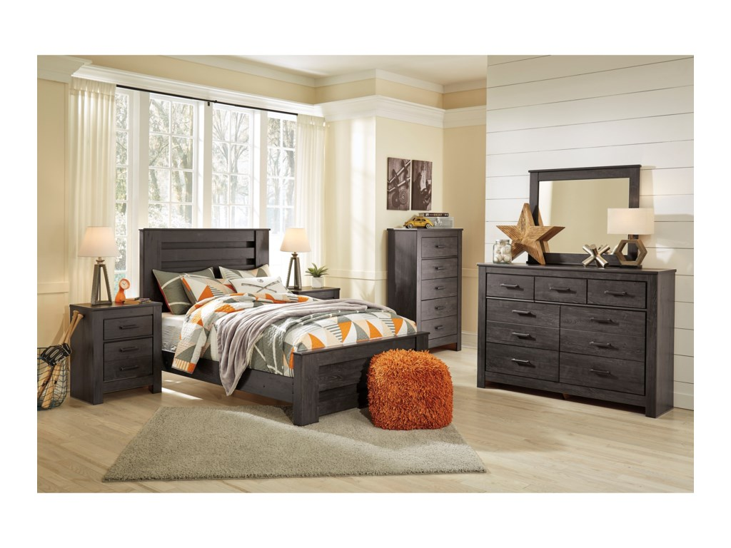 Signature Design by Ashley BrinxtonFull Panel Bed