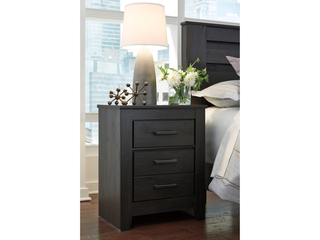 Ashley (Signature Design) BrinxtonTwo Drawer Night Stand