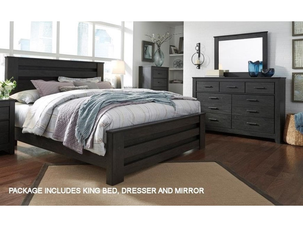 Signature Design by Ashley BrinxtonKing Bedroom Group