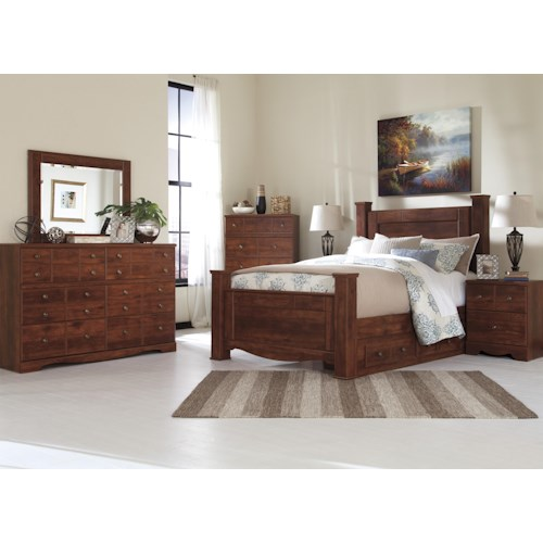 Signature Design by Ashley Brittberg Queen Bedroom Group