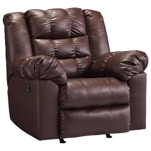 Signature Design by Ashley Brolayne DuraBlend® Casual Contemporary Rocker Recliner