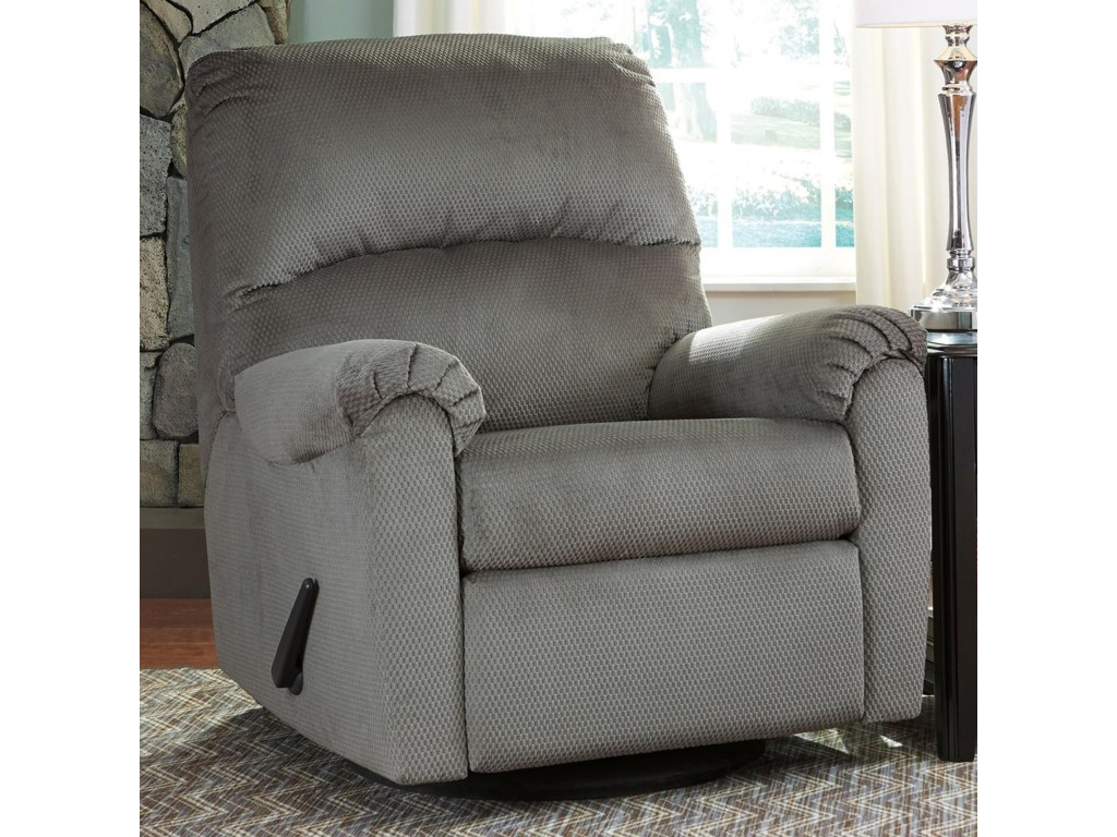 Signature Design by Ashley BronwynSwivel Glider Recliner