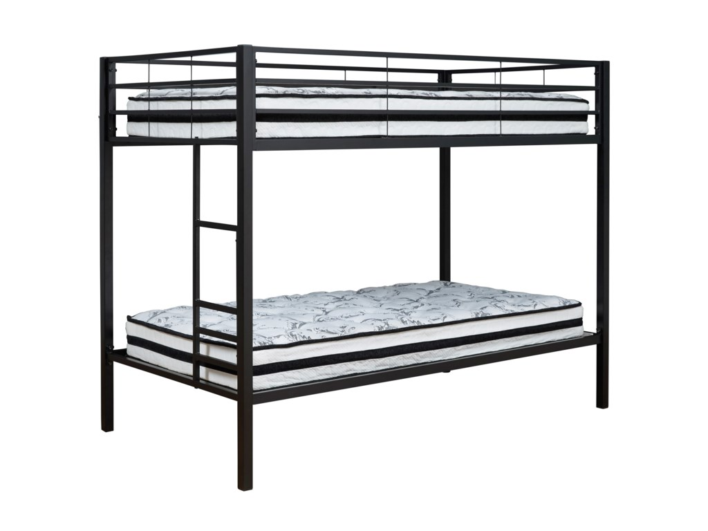 Signature Design by Ashley BroshardTwin/Twin Metal Bunk Bed
