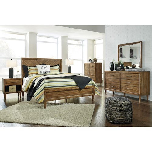 Signature Design by Ashley Broshtan King Bedroom Group