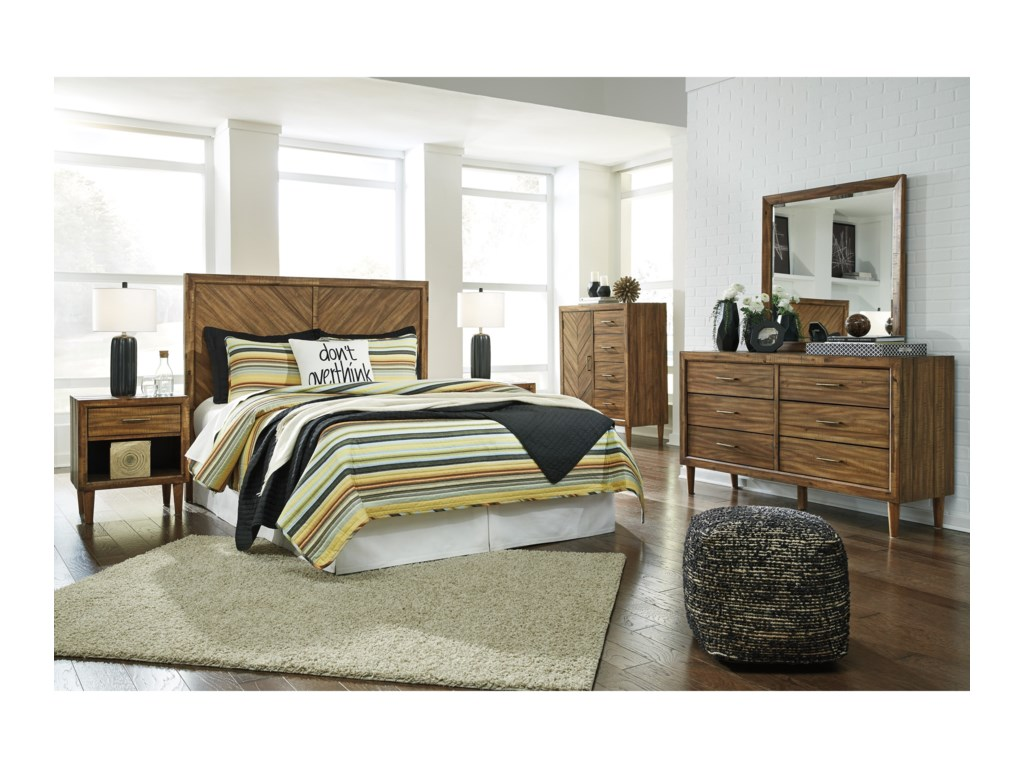 Signature Design by Ashley BroshtanQueen Bedroom Group