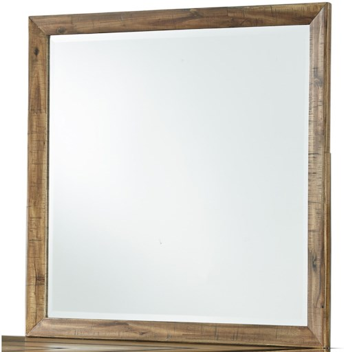 Signature Design by Ashley Broshtan Square Bedroom Mirror