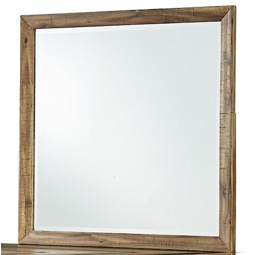 Signature Design by Ashley Broshtan Square Bedroom Mirror