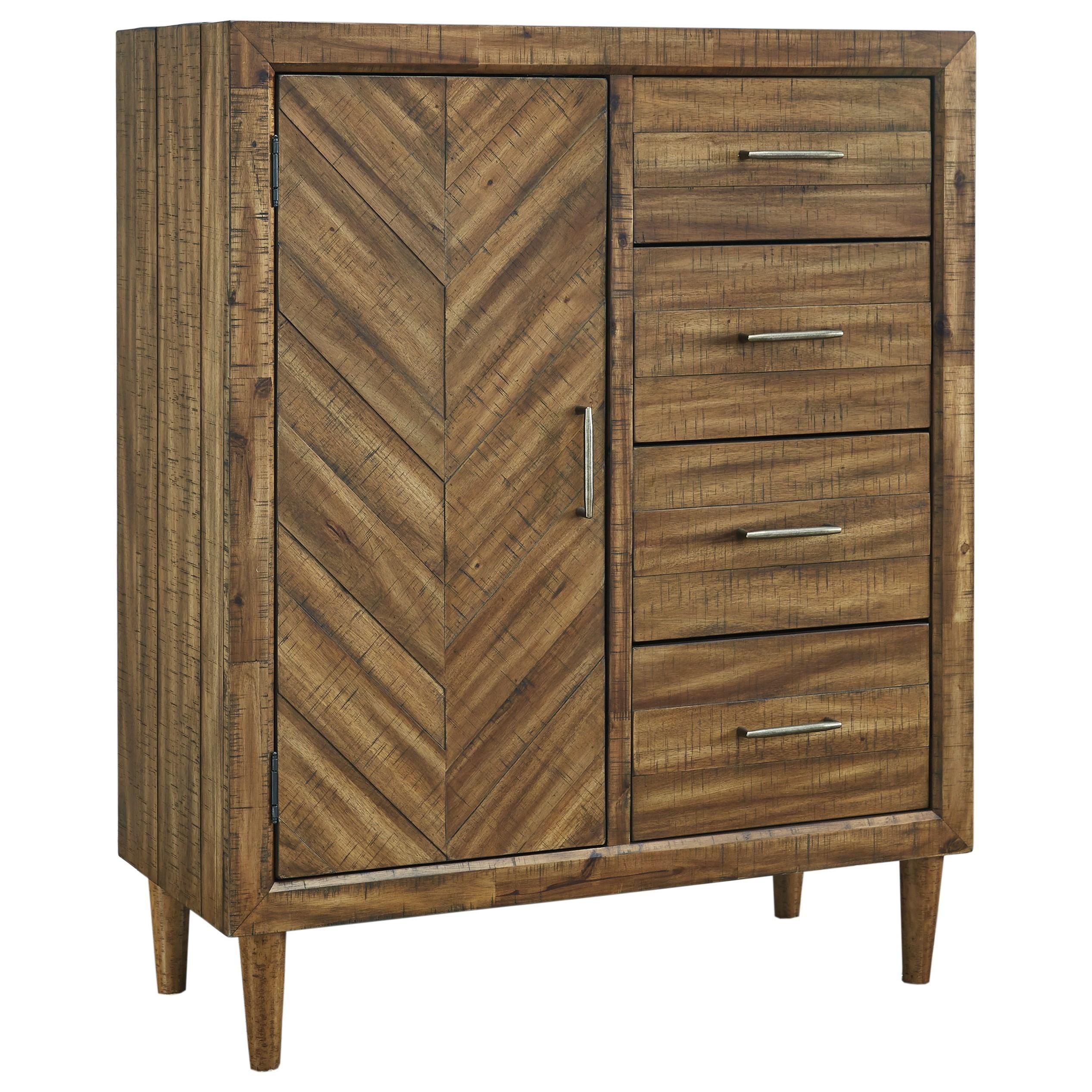 Signature Design by Ashley BroshtanDoor Chest ...  sc 1 st  Furniture and ApplianceMart & Signature Design by Ashley Broshtan B518-48 Mid-Century Modern Door ...
