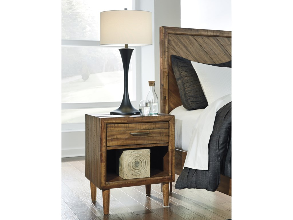 Ashley (Signature Design) BroshtanOne Drawer Nightstand