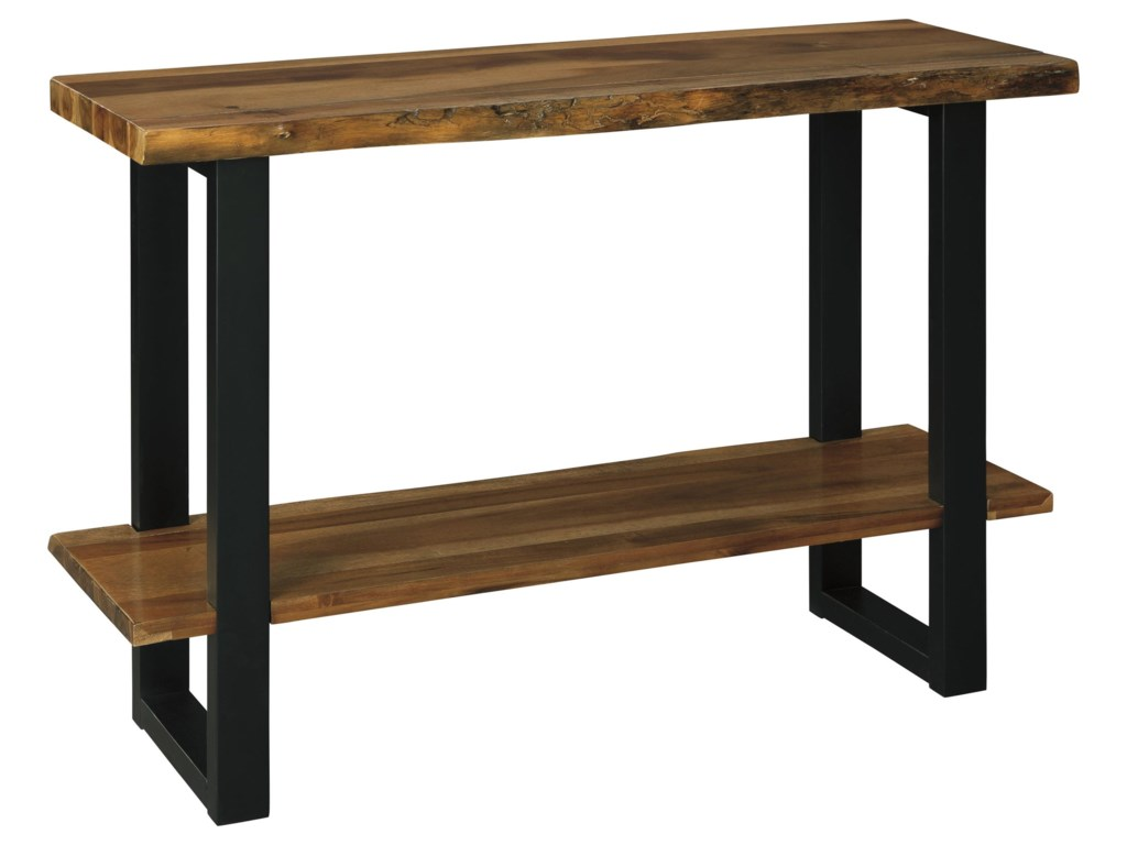 Signature Design by Ashley BroswardCocktail table, End Table and Sofa Table Set