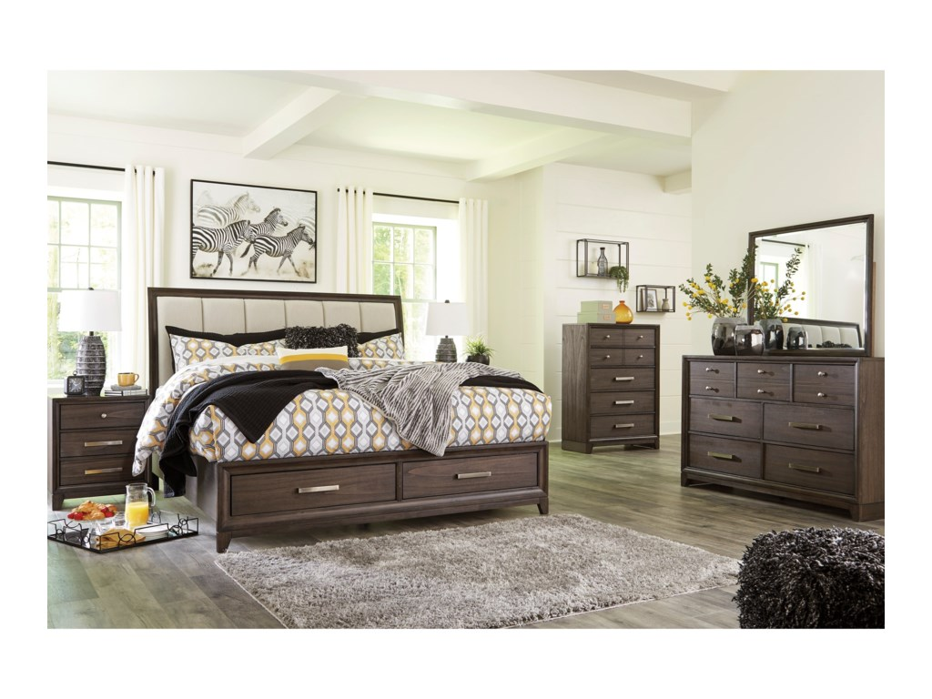 Signature Design by Ashley BruebanKing Bedroom Group