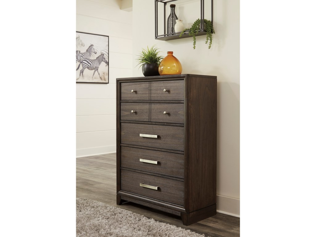 Signature Design by Ashley BruebanFive Drawer Chest