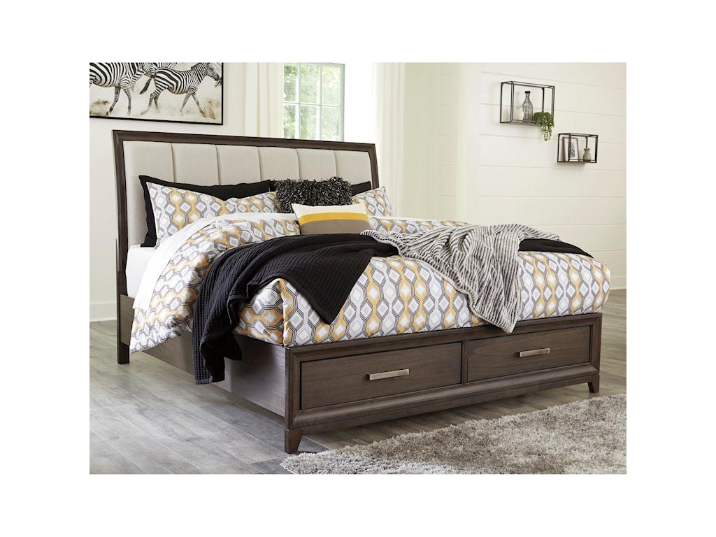 Signature Design by Ashley BruebanKing Upholstered Bed