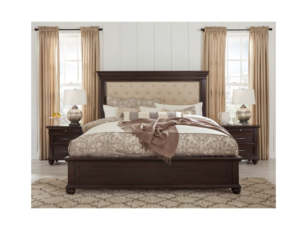 Signature Design by Ashley BrynhurstCalifornia King Upholstered Bed