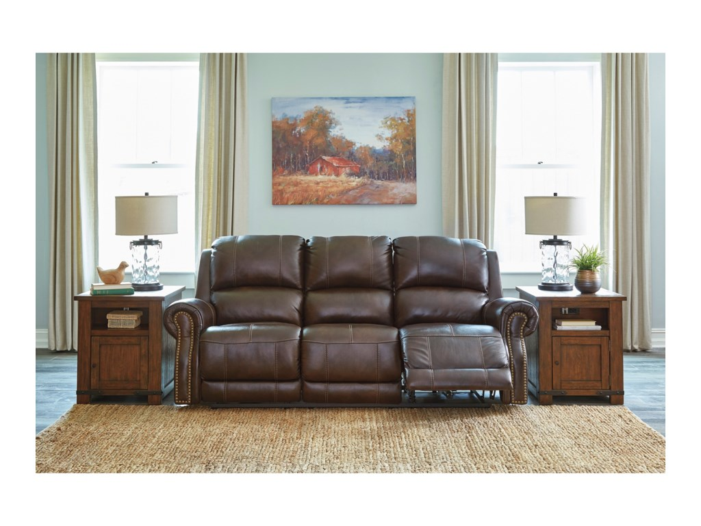 Signature Design by Ashley BuncranaPower Reclining Sofa