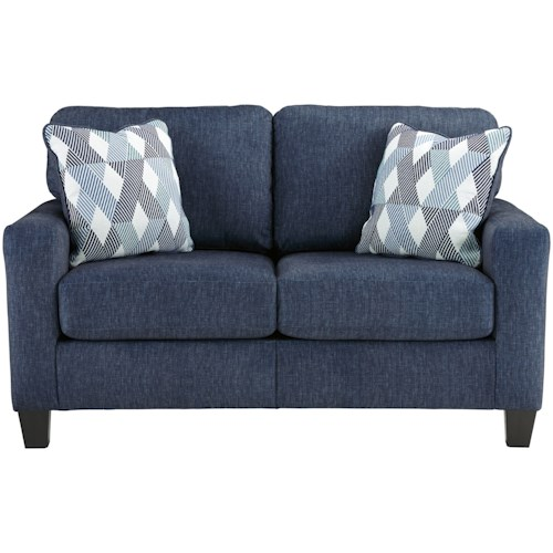 Signature Design by Ashley Burgos Contemporary Loveseat