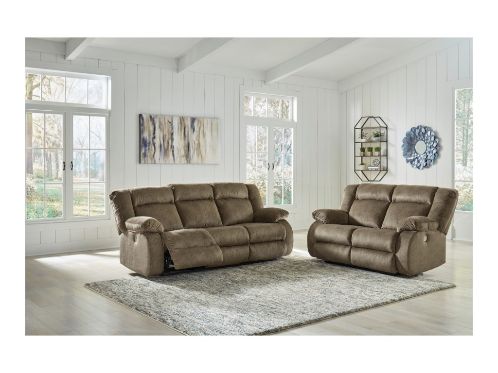 Signature Design by Ashley BurknerPower Reclining Living Room Group
