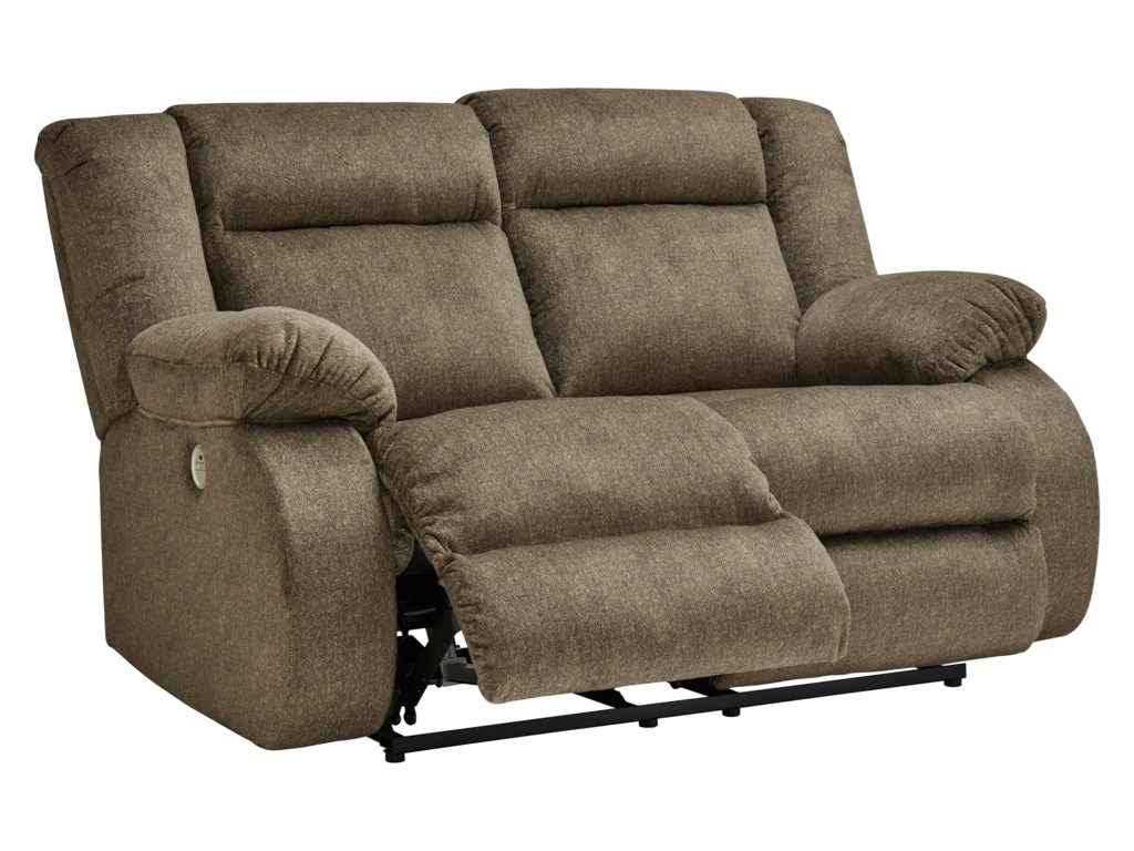 Signature Design by Ashley BurknerReclining Power Loveseat
