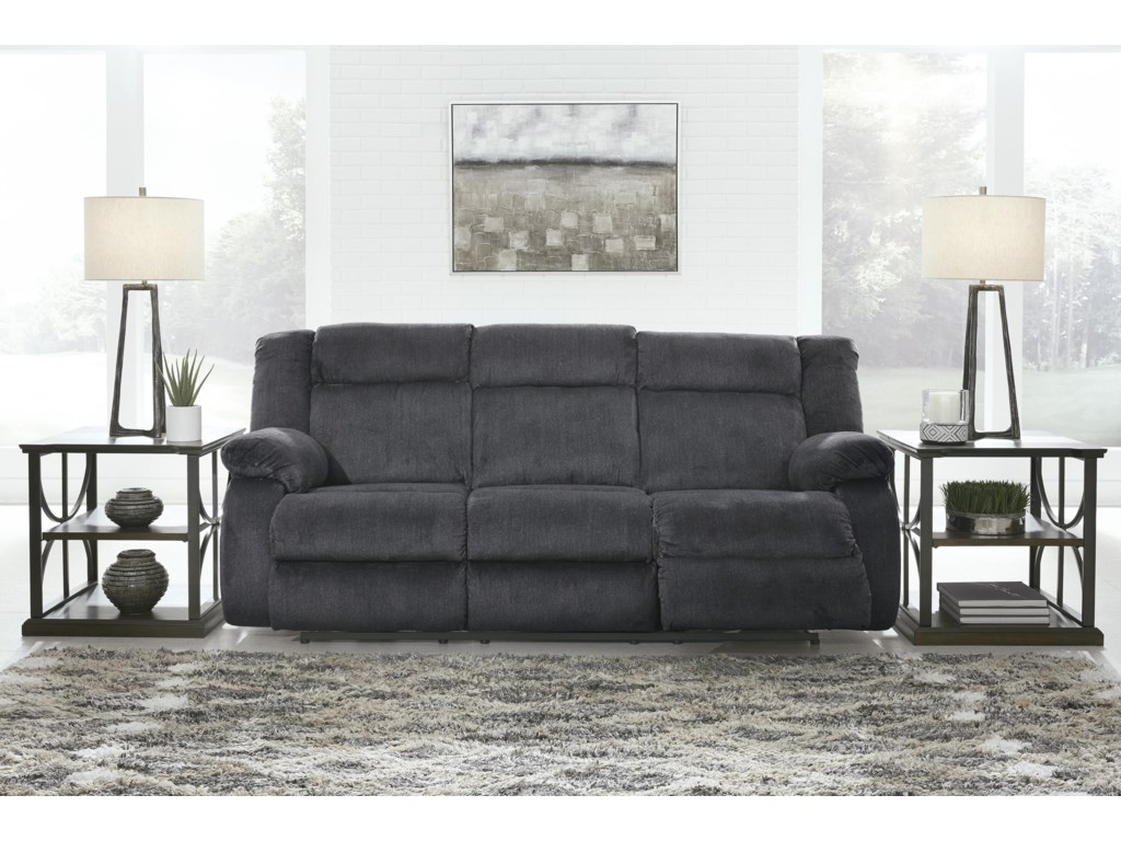 Signature Design by Ashley BurknerPower Reclining Sofa