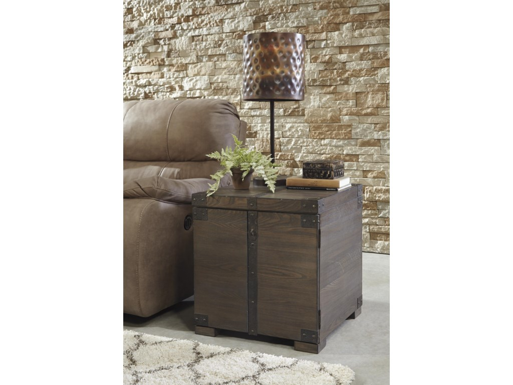 Signature Design by Ashley BurladenSquare End Table