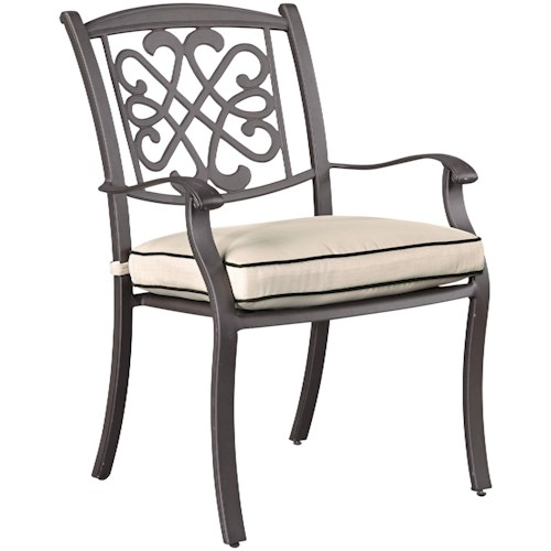 Signature Design by Ashley Burnella Outdoor Chair with Cushion