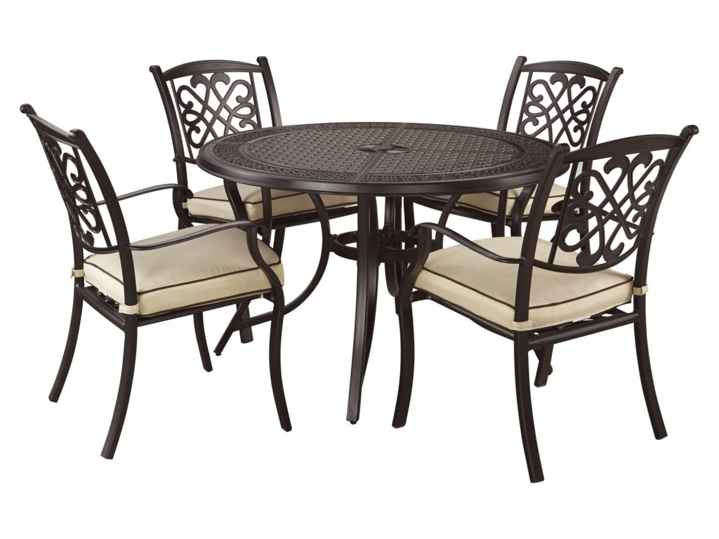 Signature Design by Ashley Burnella5-Piece Outdoor Dining Set