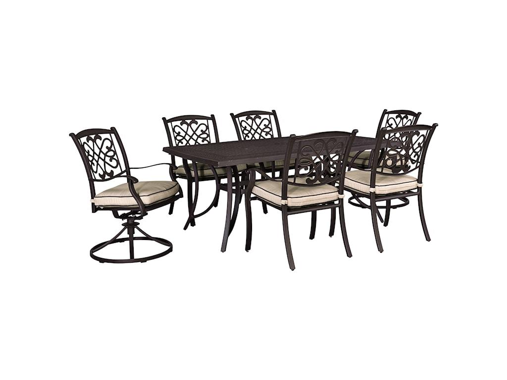 Signature Design by Ashley BurnellaOutdoor Dining Set