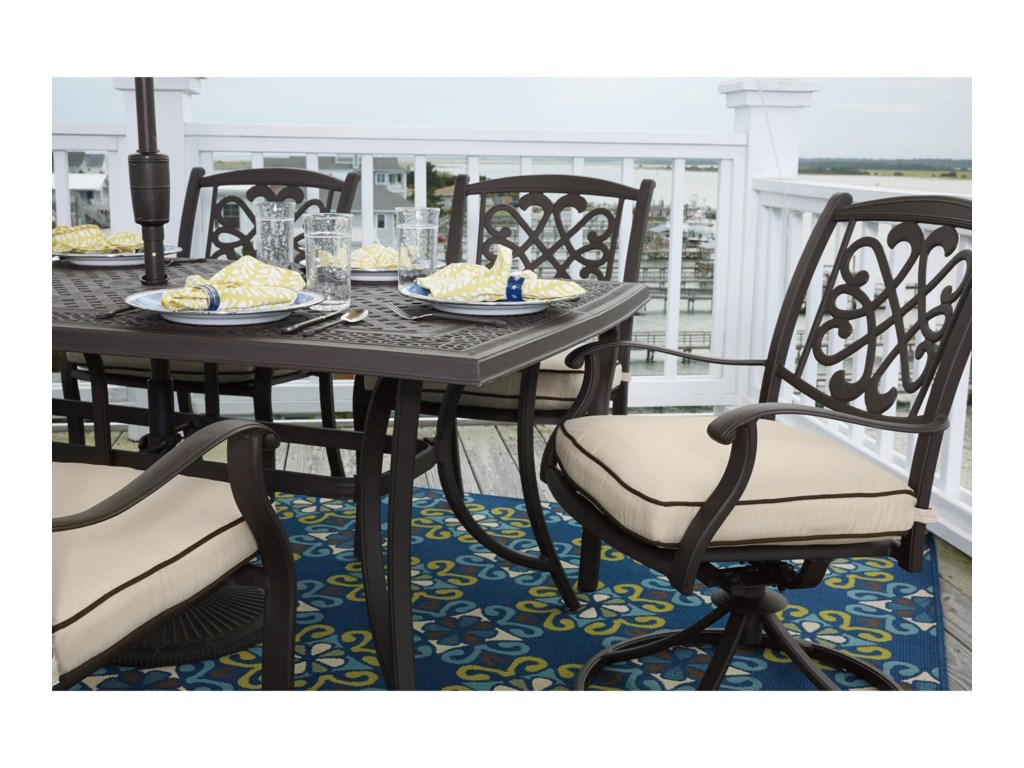 Signature Design by Ashley BurnellaOutdoor Rectangular Dining Table