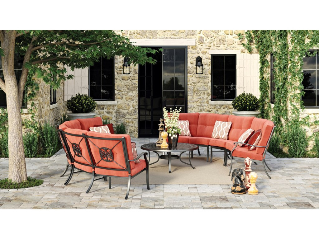 Signature Design by Ashley BurnellaOutdoor Conversation Set