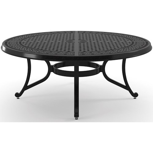 Signature Design by Ashley Burnella Round Metal Cocktail Table
