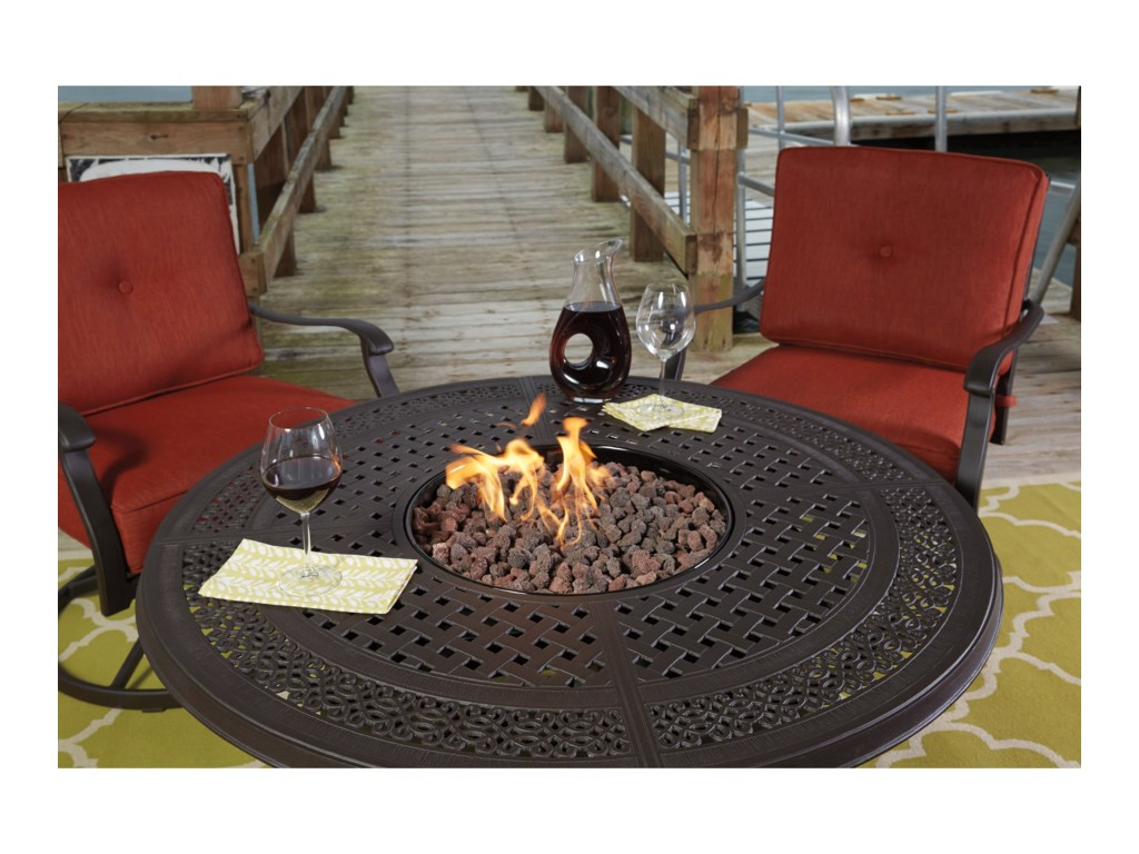 Signature Design by Ashley Burnella5-Piece Outdoor Fire Pit Set