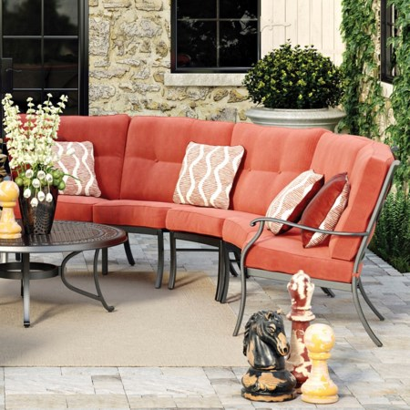 3-Piece Outdoor Sectional