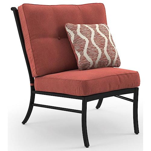 Signature Design by Ashley Burnella Armless Chair with Cushion