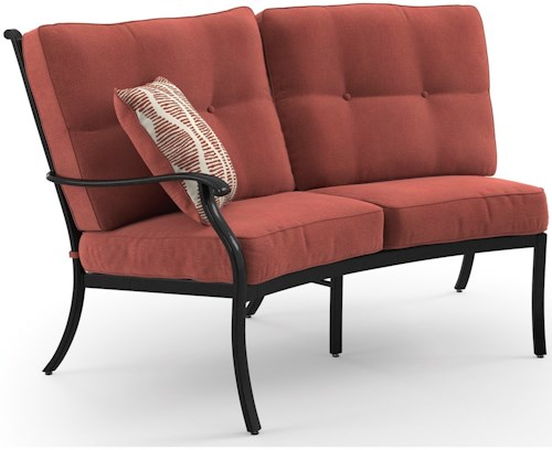 Signature Design by Ashley Burnella Left Arm Facing Loveseat with Cushion