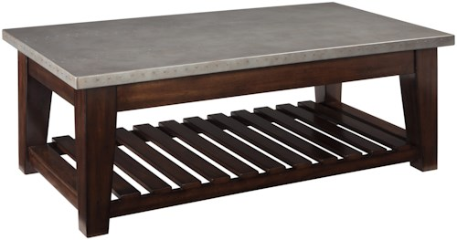 Signature Design by Ashley Bynderman Casual Lift Top Cocktail Table
