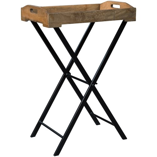 Signature Design by Ashley Cadocridge Serving Tray Accent Table