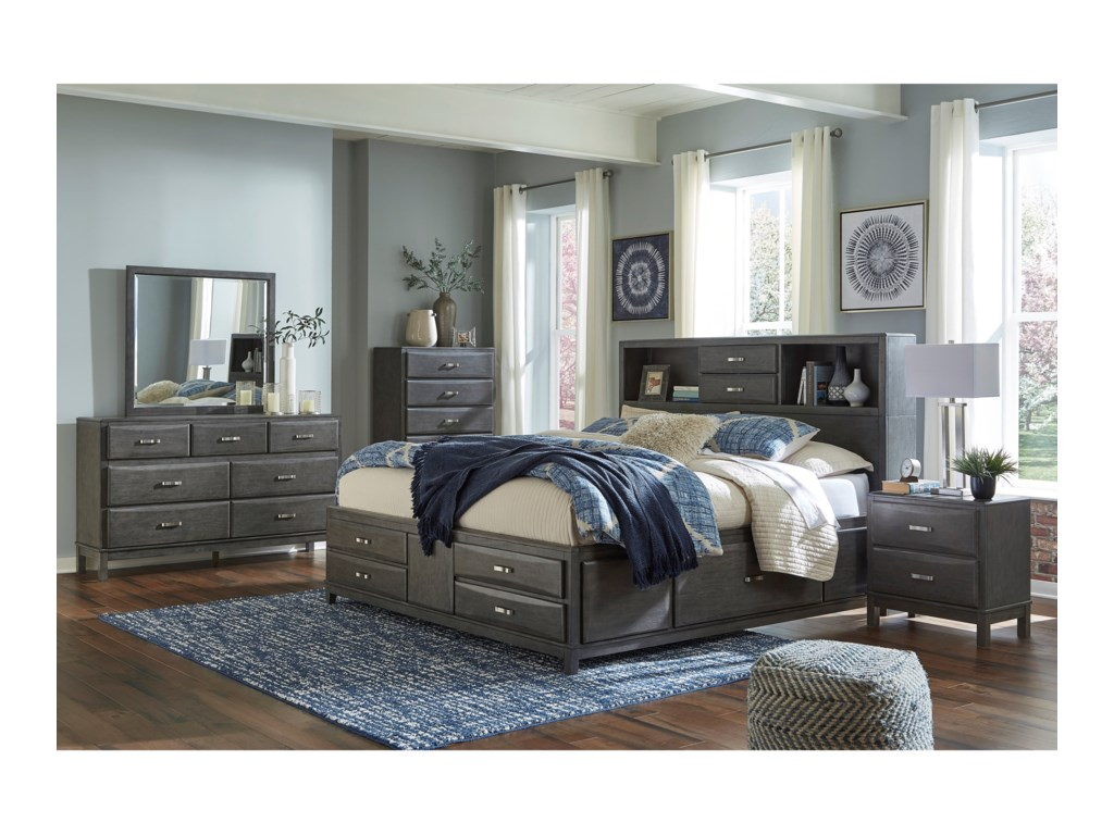 Signature Design by Ashley CaitbrookQueen Bedroom Group