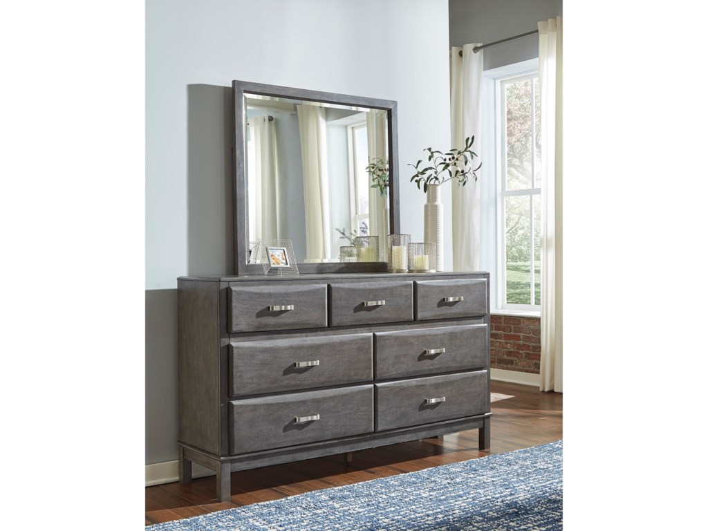 Signature Design by Ashley CaitbrookDresser and Mirror Set