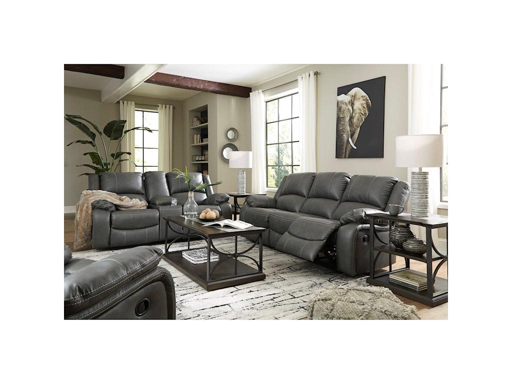 Signature Design by Ashley CalderwellReclining Living Room Group