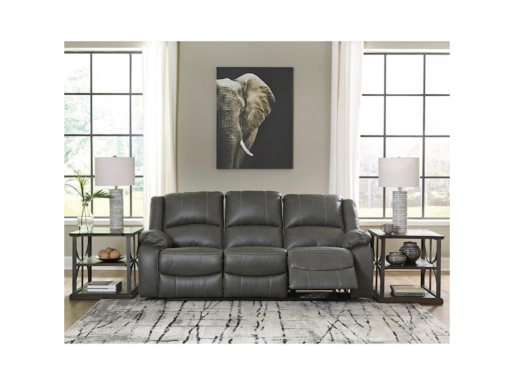 Signature Design by Ashley CalderwellReclining Power Sofa
