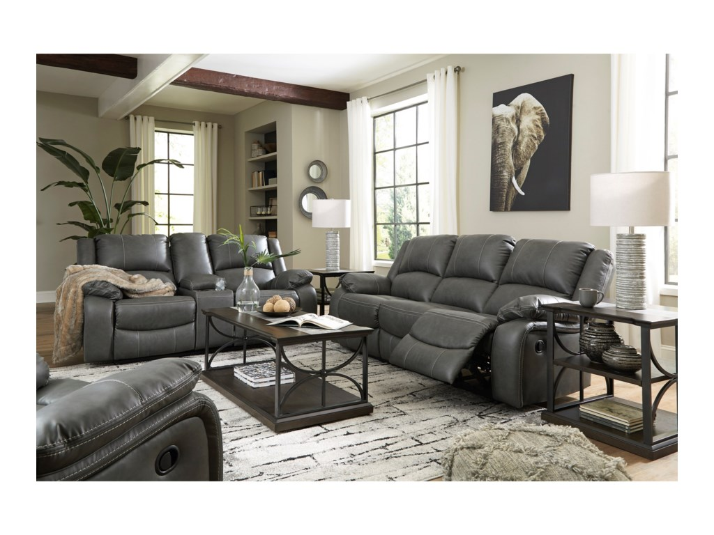Signature Design by Ashley CalderwellReclining Sofa