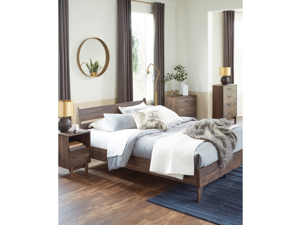 Signature Design by Ashley CalversonQueen Low Profile Bed