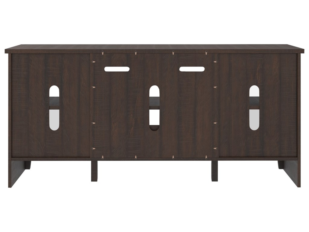 Signature Design by Ashley CamiburgLarge TV Stand w/ Fireplace Insert
