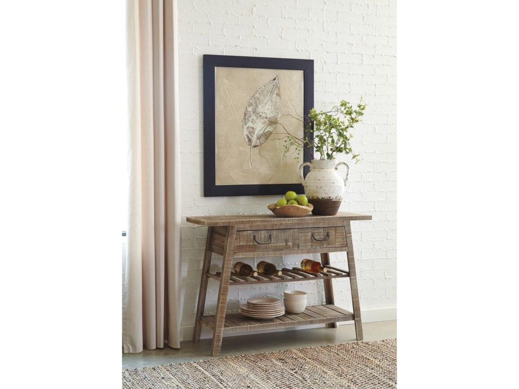 Signature Design by Ashley Camp RidgeConsole Sofa Table
