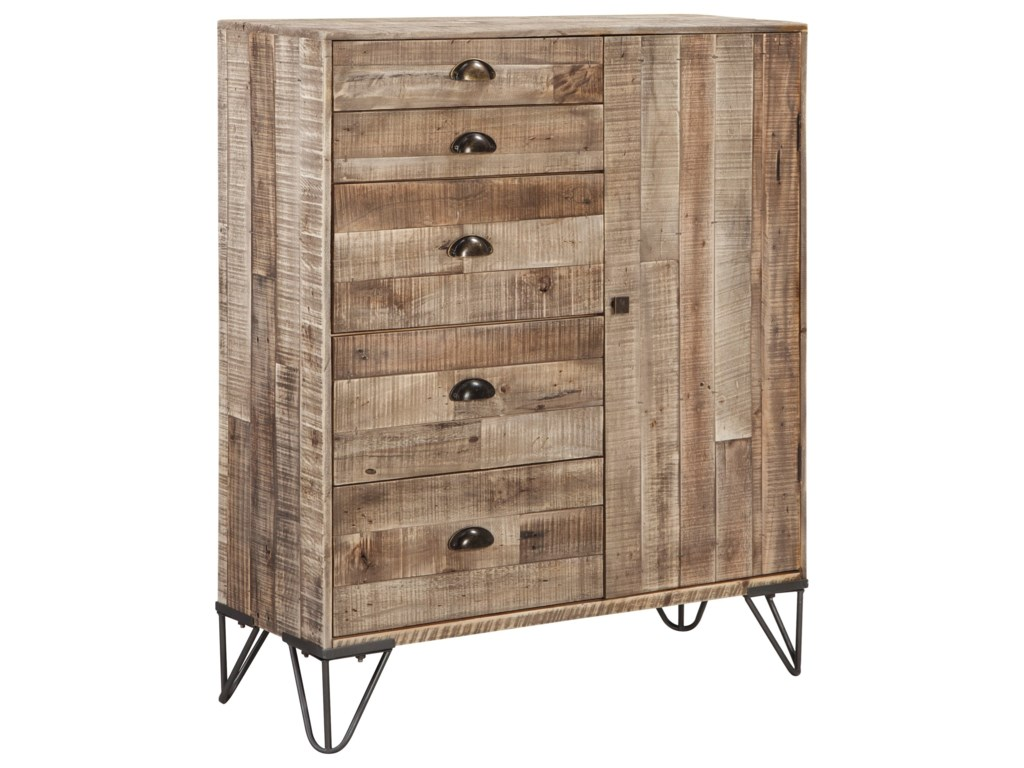 Signature Design by Ashley Camp RidgeAccent Cabinet
