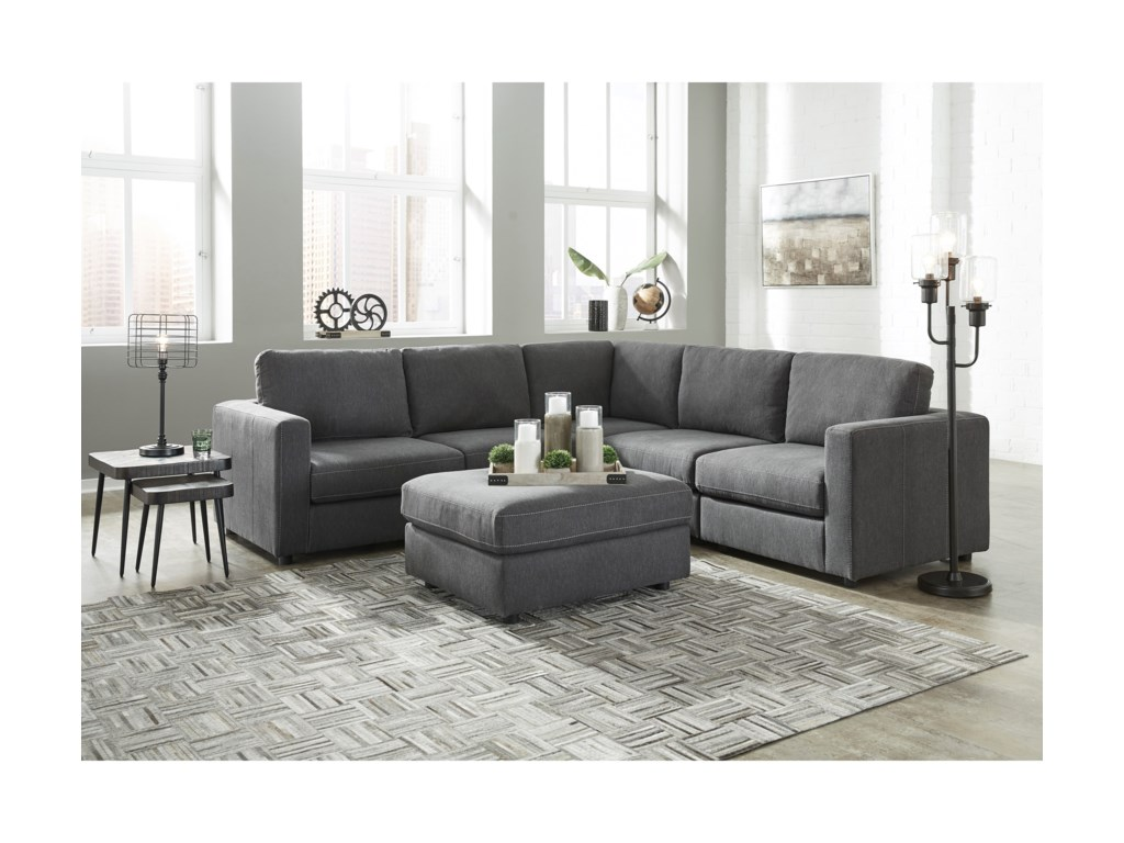Signature Design by Ashley CandelaL-Shape Sectional